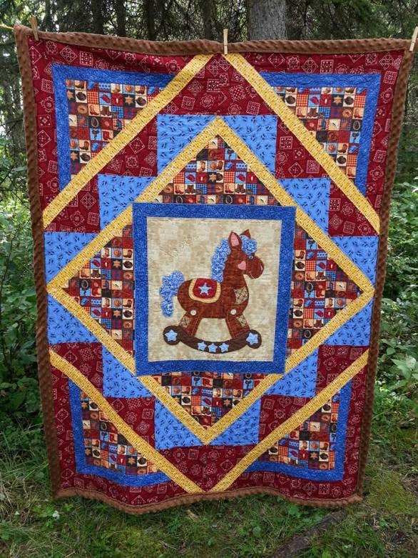 Buckaroo Steed blanket
