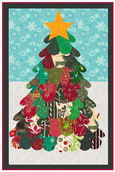 mitten-christmas-tree