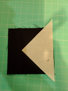 flip and sew right sides together